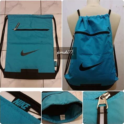 Nike Trainer Biru tas nike team gymsack original 2013 biru tosca
