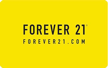 How To Redeem Forever 21 E Gift Card - forever 21 egift card