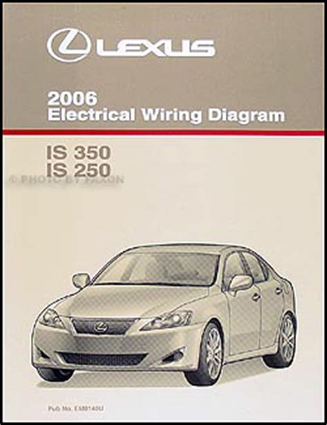 electric and cars manual 2006 lexus is electronic valve timing 2006 lexus is 350 and 250 wiring diagram manual original