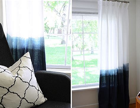 how to dye curtains 15 diy projects to decorate your windows