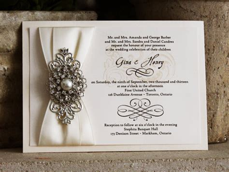 Beautiful Wedding Invitations by Sale Beautiful Wedding Invitation With Ivory By Broochbouquet2