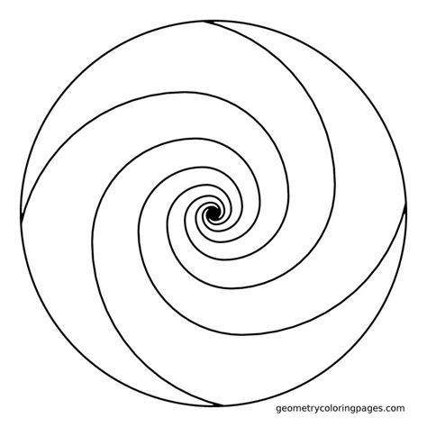 spiral mandala coloring pages mandala coloring page golden ratio spiral