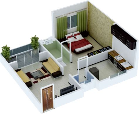 home design plans for 600 sq ft 3d 631 sq ft 1 bhk 1t apartment for sale in jay developers
