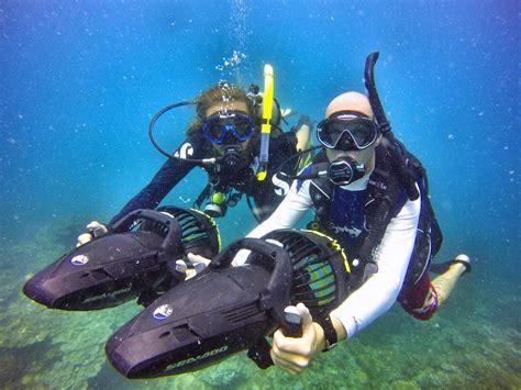 padi dive courses master scuba diver trainer course koh tao thailand