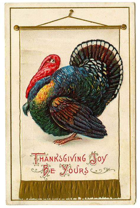 Thanksgiving Free Clip Vintage by Vintage Thanksgiving Clipart