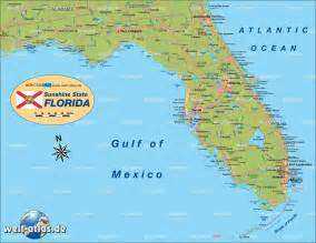 florida on world map map of florida united states usa map in the atlas of