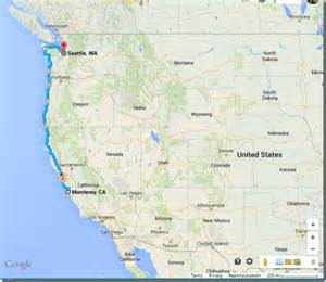 west coast road trip idea