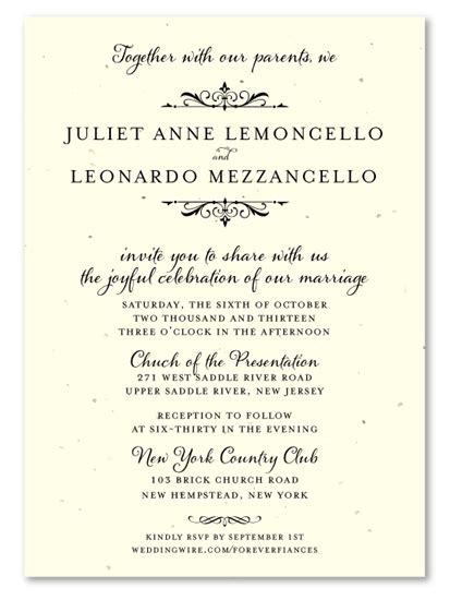 Wedding Invitations Language by Wedding Invitation In Language Wedding Invitation