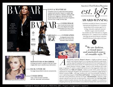magazine layout board magazine harper s bazaar layout analysis kathleen e