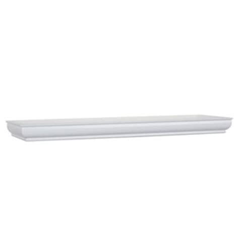 18 Inch White Floating Shelf by White Floating Corner Shelf 18 Inch Radius Woodland