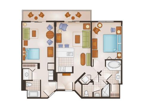 sleeping space options and bed types at walt disney world dvc boardwalk villas floor plan breakdown of disney