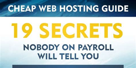 cheap web the best cheap web hosting providers