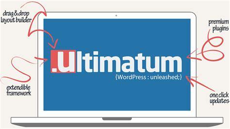 ultimatum theme creator ultimatum drag and drop wordpress theme builder