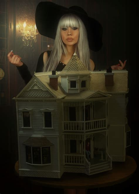 the haunted dollhouse the witch s haunted dollhouse by intershrinker on deviantart