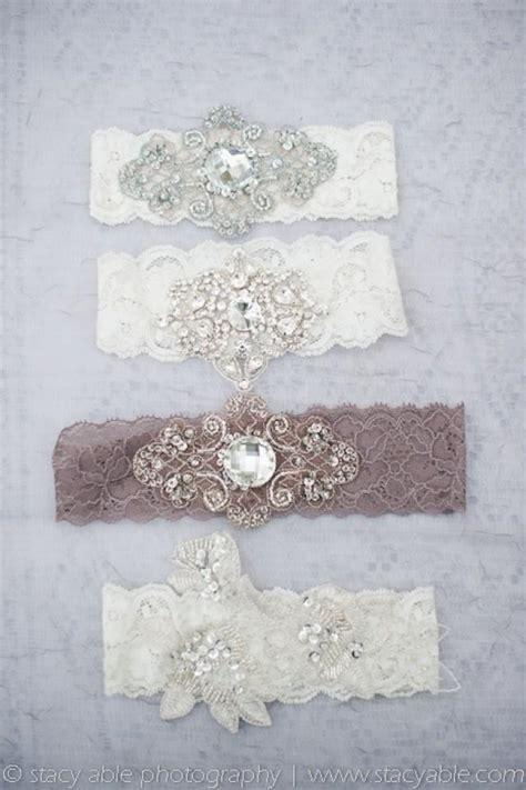 5 Vintage Style Inspirations by Vintage Wedding Vintage Inspired Garters 2056188 Weddbook