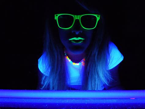 black lights use a black light to see if you just experienced