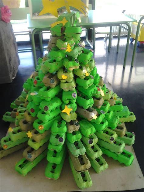arbol de navidad con materiales reciclados c 243 mo hacer un 225 rbol de navidad con materiales reciclados