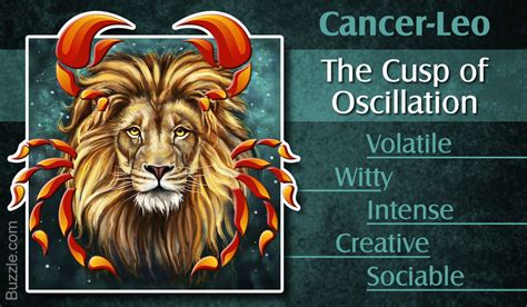 positive and negative traits of the cancer leo cusp of