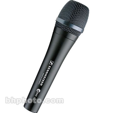 Microhone Mic Kabel Sennheiser E 945 935 sennheiser e945 supercardioid handheld microphone 009422 b h