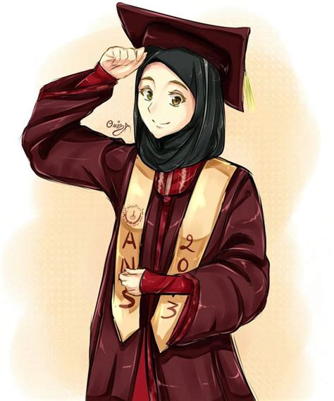 muslimah anime graduate i think maybe i will become this inyaallah projects to try