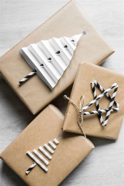 weihnachtsgeschenke einpacken weihnachtsgeschenke verpacken 5 einfache diy ideen