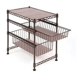 She05122 2 drawer stackable kitchen cabinet organizer lowe s canada