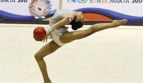 vestidos de gimnasia rtmica en los juegos infantiles javiera rubilar gana dos medallas de bronce en la gimnasia