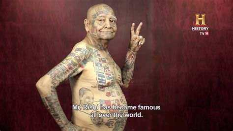 tattoo history in hindi tattoo man of india man who made 25 world records omg