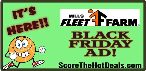 mill s fleet farm black friday ad released score the