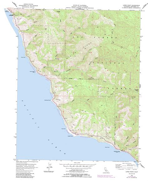 california map high resolution point topographic map ca usgs topo 36121a5