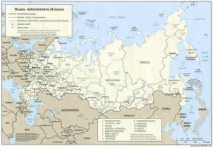 map of russia russia