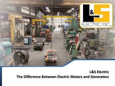 electric motor and generator difference difference between electric motors and generators