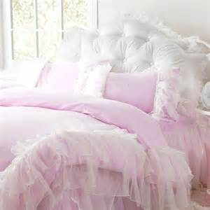 shabby chic ruffled bedding scarlett s room ideas