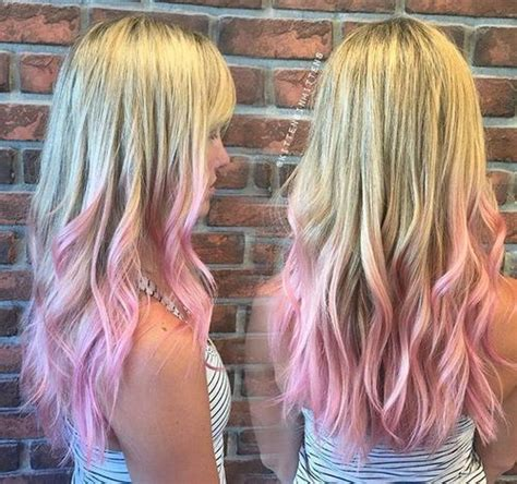 hair styes dye at bottom 40 pink hair ideas unboring pink hairstyles to try in 2018