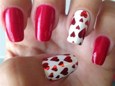 imagenes de uñas decoradas san valentin im 225 genes con dise 241 os y decoraciones de u 241 as para el d 237 a de