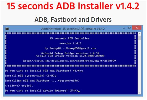 how to install nexus 4 adb fastboot drivers on windows 15 seconds adb fastboot and driver installer pc tools