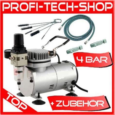 Druckluft Kompressor Zum Lackieren by Airbrush Kompressor Set Druckluft Airbrushkompressor
