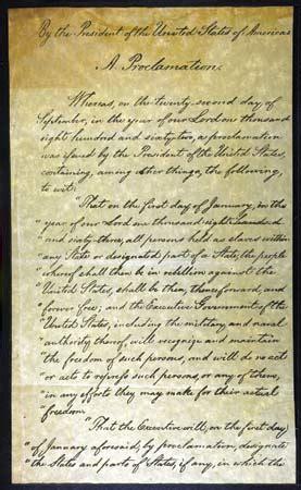 abraham lincoln biography emancipation proclamation the emancipation proclamation 1863