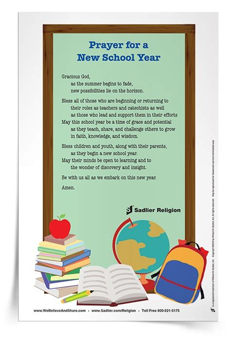 prayer for the new school year prayer for new school year prayer cards