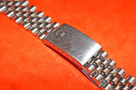 genuine rolex 20mm size jubilee bracelet with 555 end