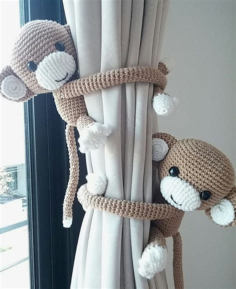 monkey curtains best 25 curtain ties ideas on pinterest pom pom