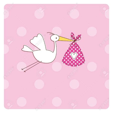 Baby Shower With by Baby Shower Stork Clipart 75