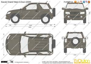 Suzuki Drawing The Blueprints Vector Drawing Suzuki Grand Vitara