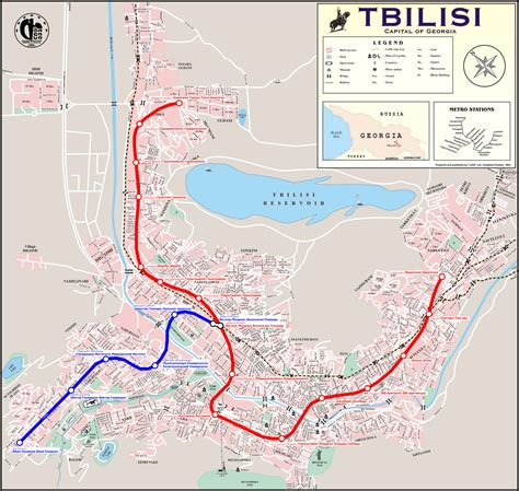 where is tbilisi on map map тбилиси