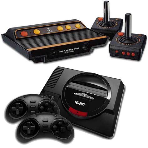 console retro console r 233 tro sega et console r 233 tro atari nostalgie en