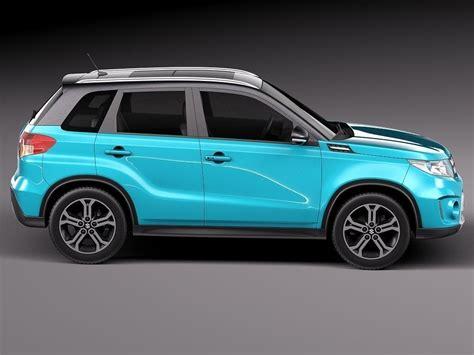 Suzuki Vitara New Model Suzuki Vitara 2015 3d Model Max Obj 3ds Fbx C4d Lwo Lw Lws