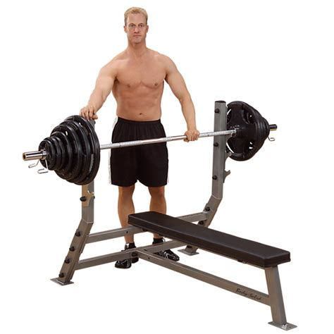 body solid flat bench sfb349g flat olympic bench body solid fitness