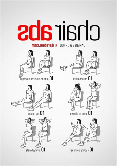 desk exercises for abs desk chair exercises 187 get best 25 chair exercises ideas