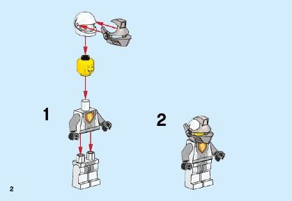 Dijamin Lego 70366 Nexo Knights Battle Suit Lance lego battle suit lance 70366 nexo knights
