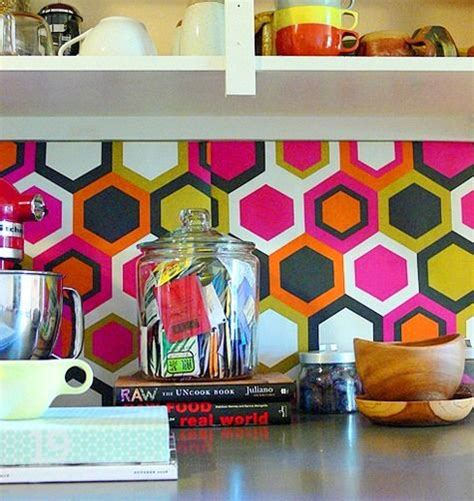 removable wallpaper backsplash kitchen backsplash wallpaper funky wallpaper